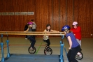 Einradworkshop vom 08.11.2009